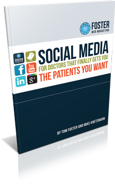 Book Cover of Social Media for Doctors That Finally Gets You the Patients You Want