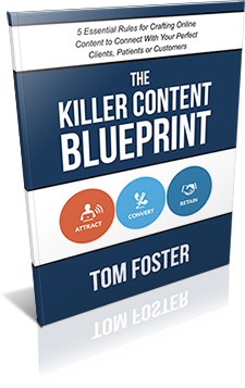 Book Cover of The Killer Content Blueprint