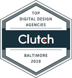Digital design agencies baltimore 2018 badge