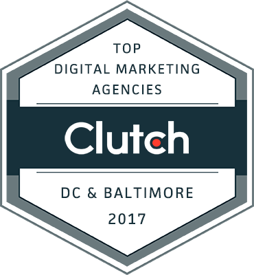 Digital marketing DC Baltimore 2017 badge