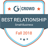 GB Best Relationship Small Business Fall 2018 badge