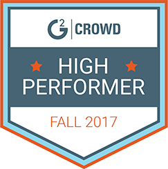 G2 high performer fall 2017 badge