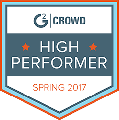 G2 high performer spring 2017 badge