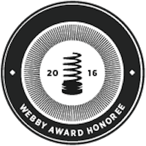 Webby Award Honoree 2016