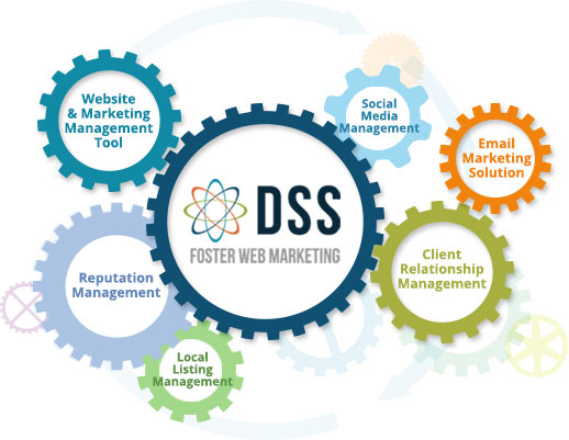 gears showing DSS software components