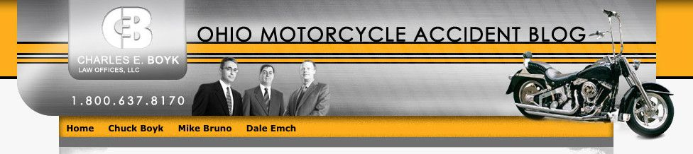 Ohio Motorcycle Accident Blog Design