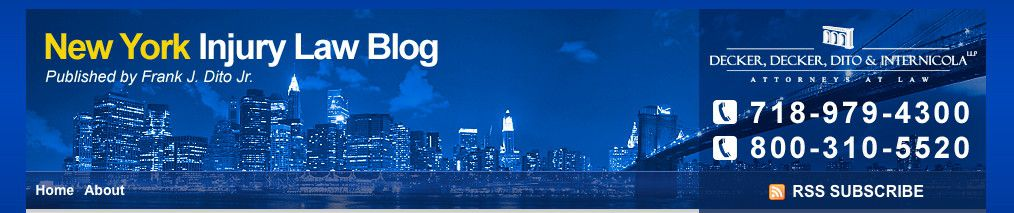 New York Injury Attorney Blog Design