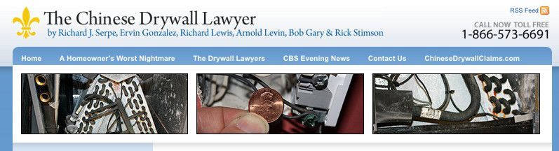 Drywall Lawyer Blog Design